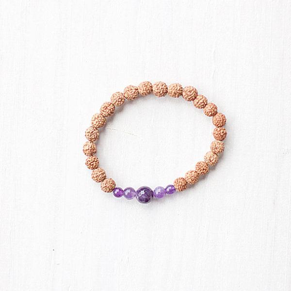 Tranquil Amethyst Bracelet