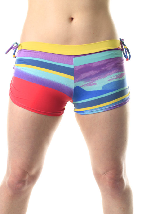 Shakti Activeware - Side String Shorts Between the