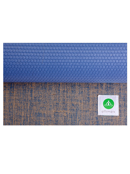Affrmats Yoga Mat - I am wonderfully made - purple