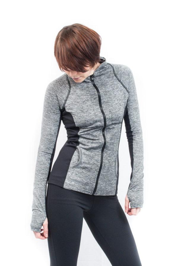 Hard Tail Pullover Jacket - Black