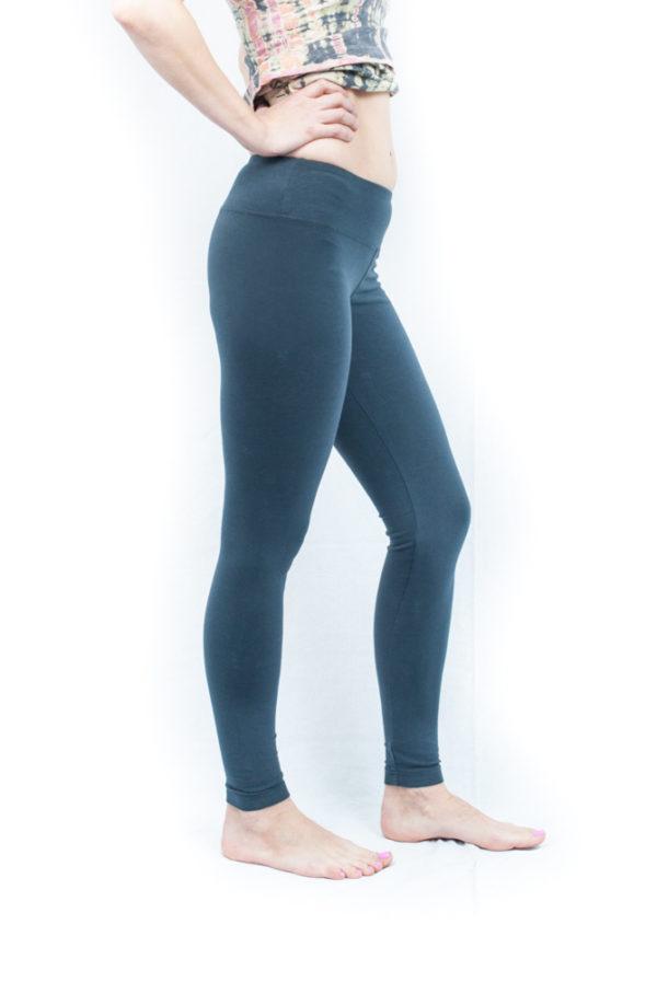 Hard Tail Flat Waist Ankle Legging - Onyx