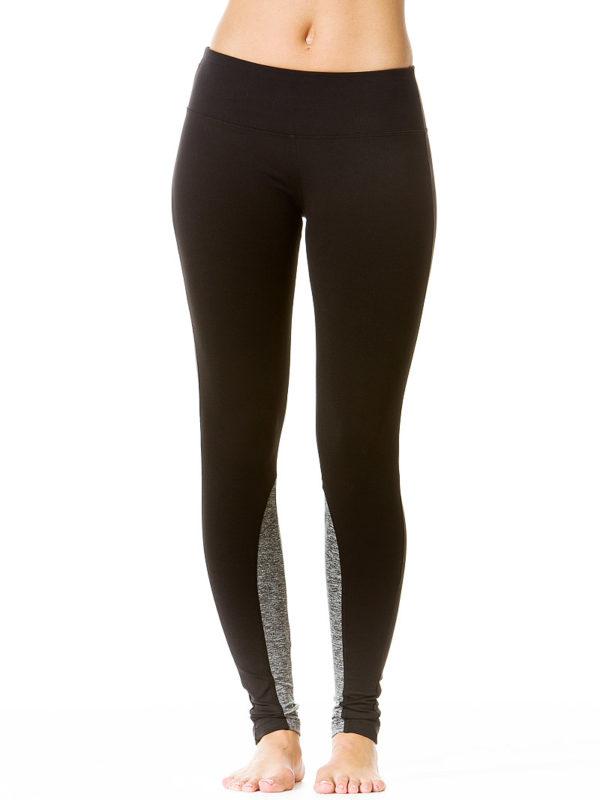 Hard Tail Flat Waist Legging - Black