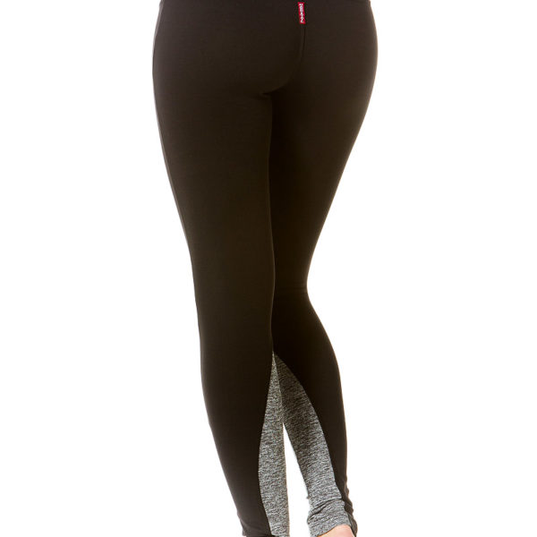 Hard Tail Flat Waist Legging - Black