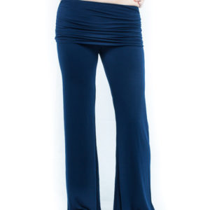 Hard Tail Ruched Waist Pant - Ink