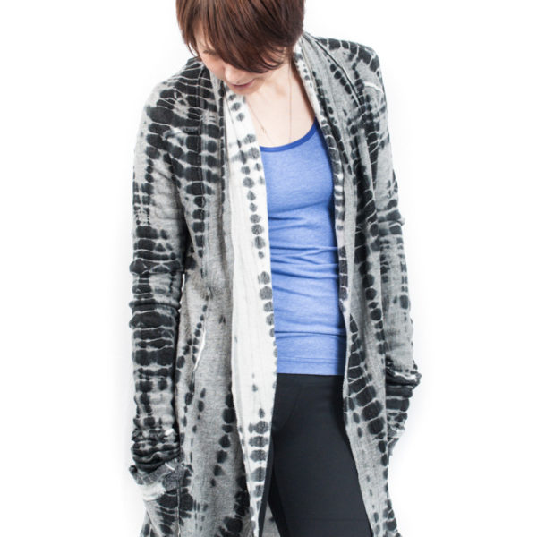 Hard Tail Slouchy Cardigan All Over Print
