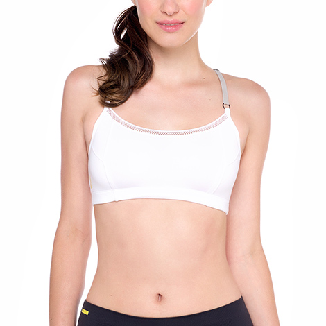 White -  Kali Bra - Sports Bra from Lole