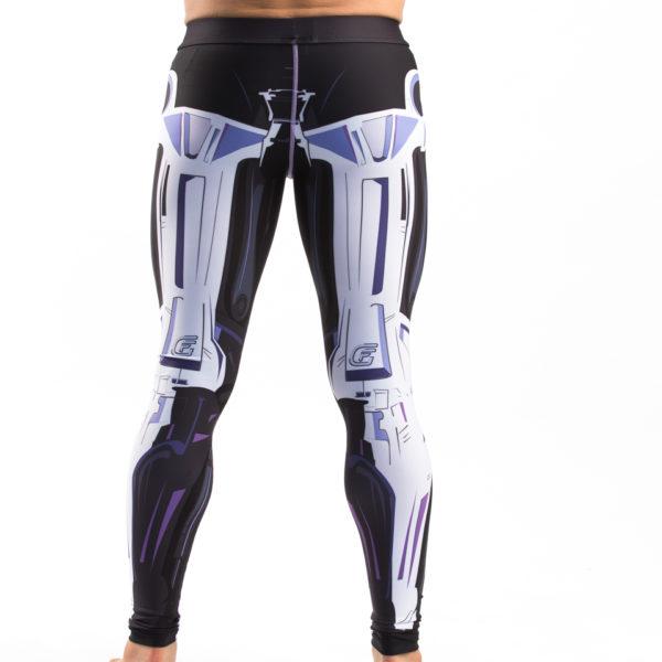FFG - Terminator 2 Endoskeleton BJJ Spats - Back
