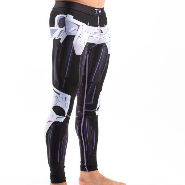 FFG - Terminator 2 Endoskeleton BJJ Spats - Angle