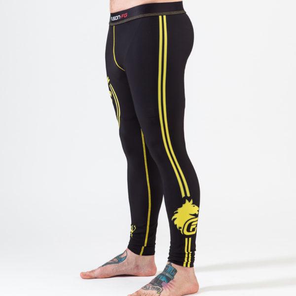FFG - Rocky Italian Stallion - Mens Yoga Leggings - Left