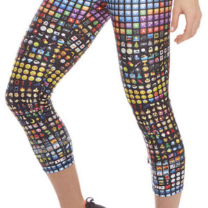 Zara Terez - Womens Emoji Performance Capri Leggings