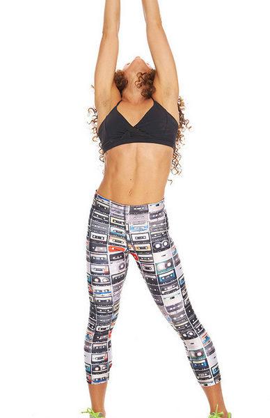 Zara Terez - Womens Mixtapes Performance Capri Leggings - reach