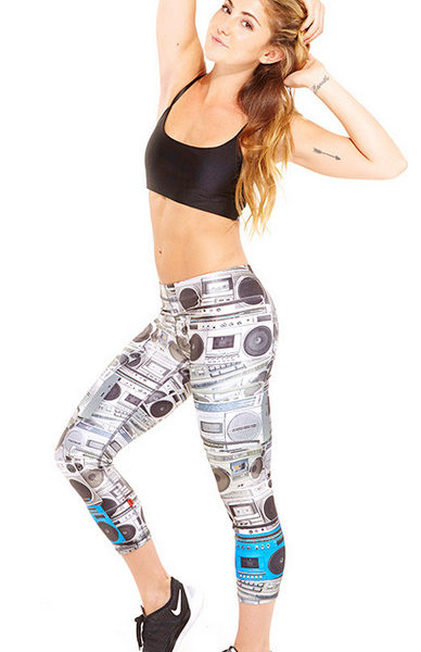 Zara Terez - Womens Boombox Performance Capri Leggings - Style