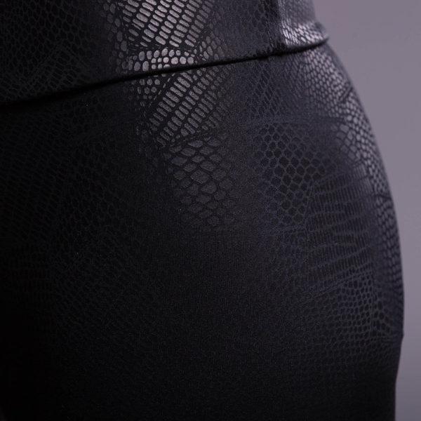 Onzie Capri Pant - Coccodrillo Detail