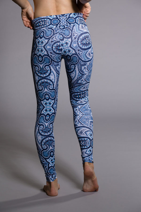 Onzie Long Leggings - Iris Back