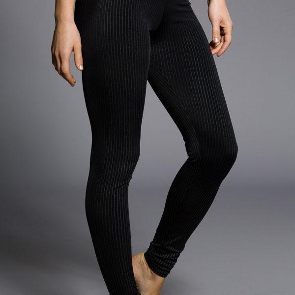 Onzie Long Leggings - Pin Stripe