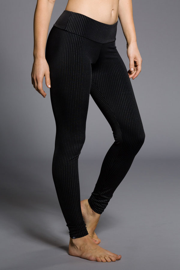 Onzie Long Leggings - Pin Stripe