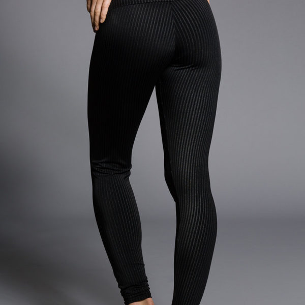 Onzie Long Leggings - Pin Stripe Back