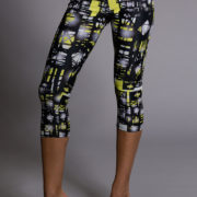 Onzie Capri Pant - Queen Bee Pose2