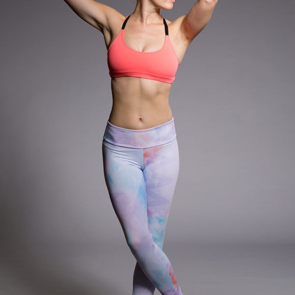 Onzie Long Legging - Candy Cloud  Model