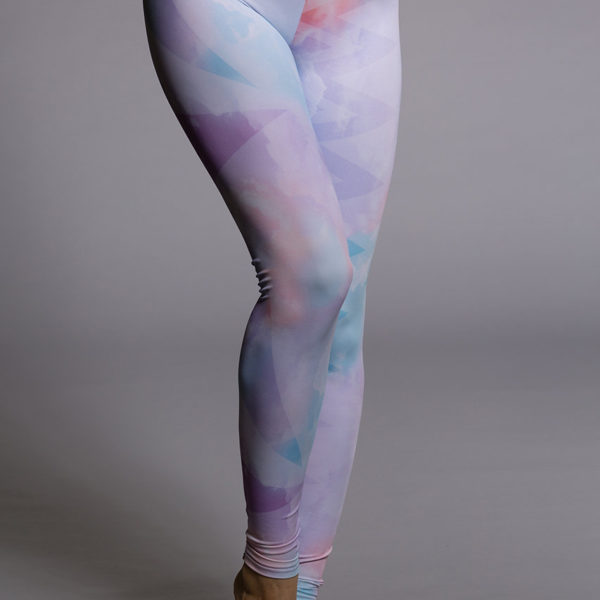 Onzie Long Legging - Candy Cloud  Front