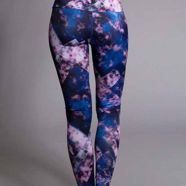 Onzie Long Legging - Celeste Back