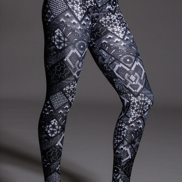 Onzie Long Legging - Noir Side
