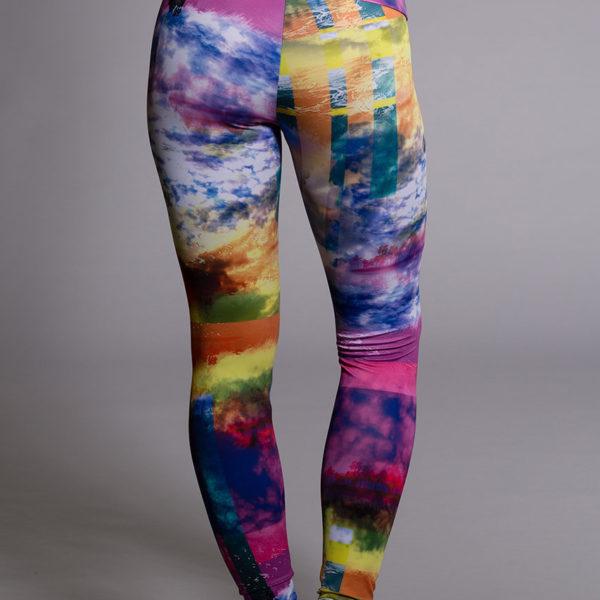Onzie Long Legging - Waikiki Back