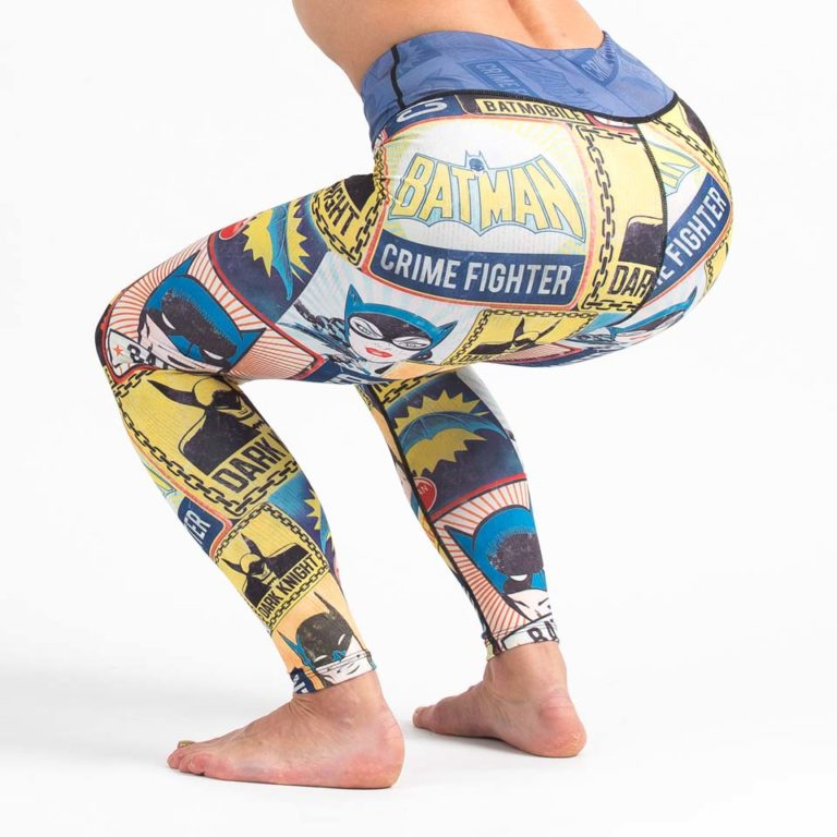 Batman Crime Fighter Leggings - Squat