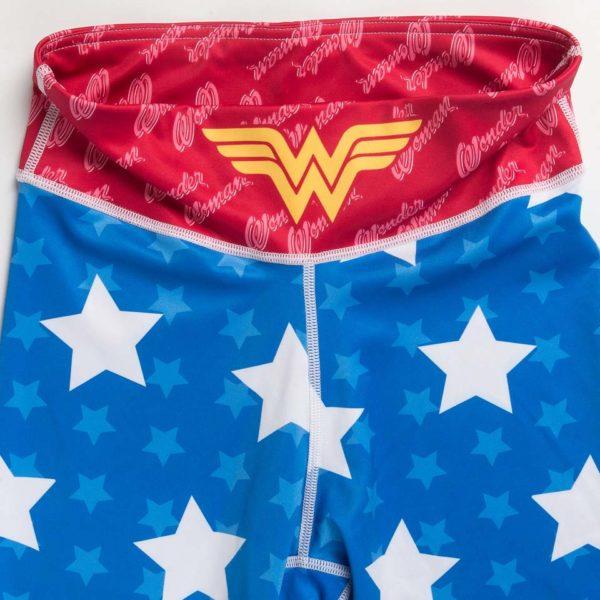 Wonder Woman Leggings - Material